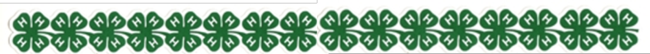 4-H Clover Graphic