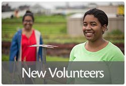 New Volunteers